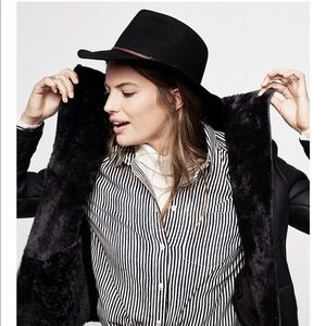 Madewell Biltmore felt fedora hat